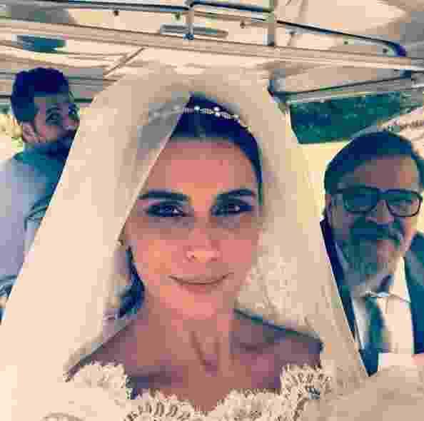 Bruno Gagliasso e Luís Melo fazem photobomb no clique de Giovanna Antonelli - Reprodução/Instagram
