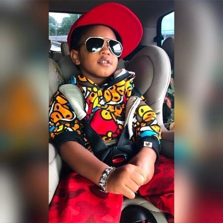 Roque, filho de Regina Casé, comemora 4 anos - Reprodução/Instagram/reginacase