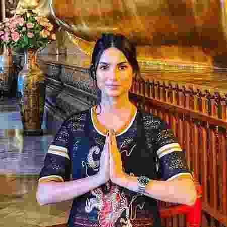 Thaila Ayala faz visita à Tailândia - Reprodução/Instagram