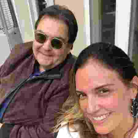 Fausto Silva aproveita férias ao lado da mulher, Luciana Cardoso - Reprodução/Instagram/lucard