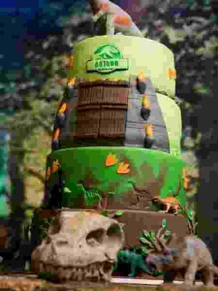 O bolo de aniversário de Arthur - Reprodução/Instagram - Reprodução/Instagram