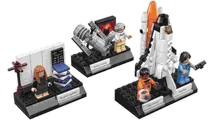 Lego cria kit de cientistas que se destacaram na Nasa - Divulgação