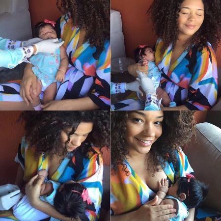 Juliana Alves com a filha - Reprodução/Instagram