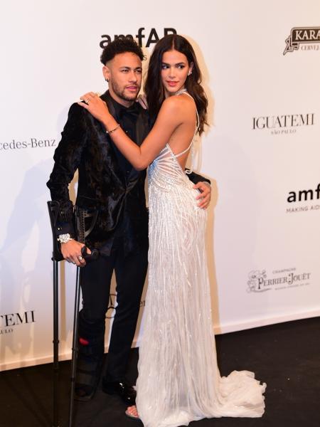 Bruna e Neymar aparecem juntos em evento - Deividi Correa/Léo Franco e Thiago Duran/AgNews
