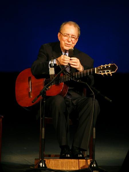 O cantor e compositor João Gilberto - Rafael Andrade/Folha Imagem