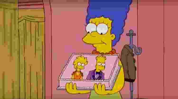 """Cena de """"Os Simpsons"""" - Reprodução - Reprodução"""