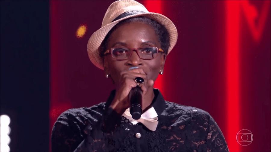 """A candidata Jacira Maria Flor no """"The Voice Brasil"""" - Reprodução"""