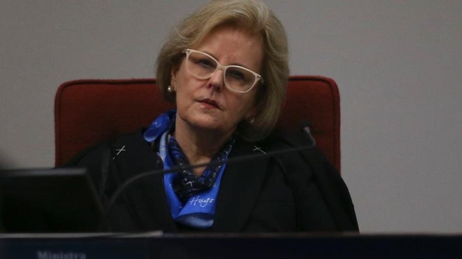 A ministra Rosa Weber durante audiência pública no Supremo Tribunal Federal sobre descriminalização do aborto - José Cruz/Agência Brasil