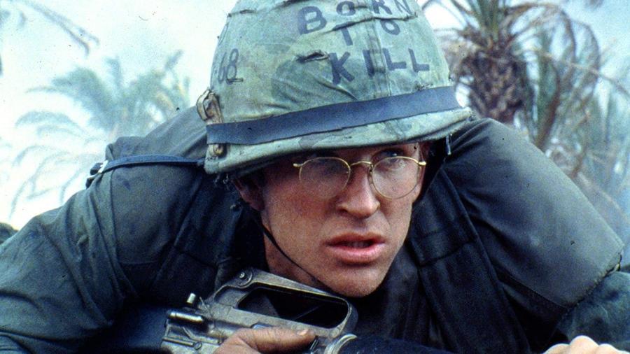 """Matthew Modine em """"Nascido para Matar"""" (1987) - Divulgação"""
