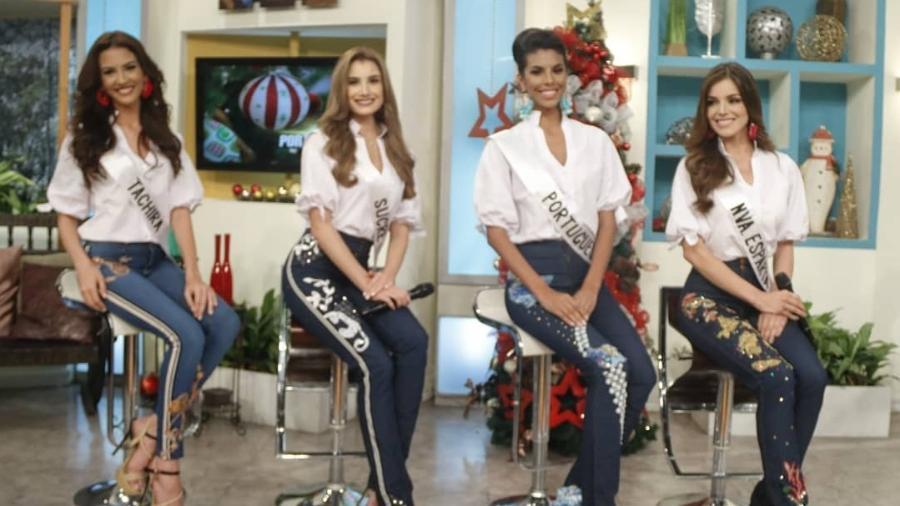 e88c58154 O concurso Miss Venezuela se reinventa diante da crise - 13/12/2018 ...