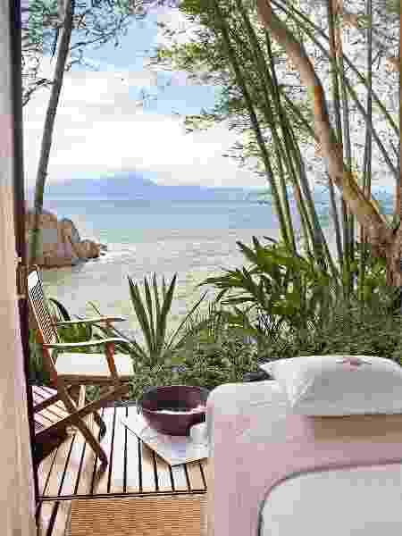 Spa Sisley no hotel Ponta dos Ganchos, em SC - Divulgação