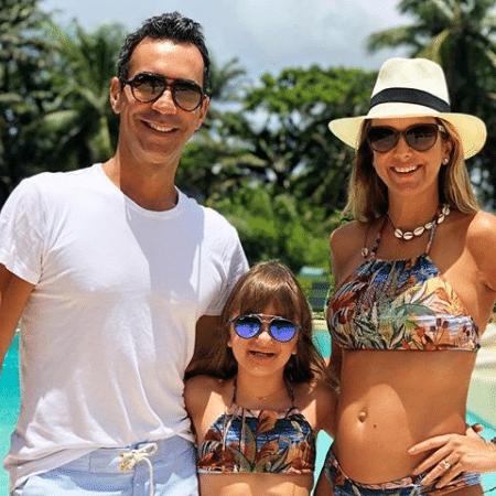Cesar Tralli, Rafaella Justus e Ticiane Pinheiro - Reprodução/Instagram