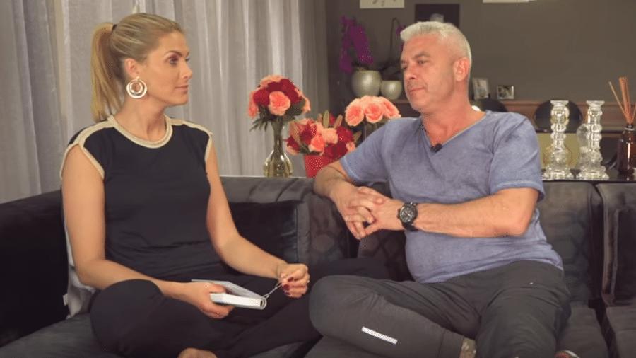 Ana Hickmann faz perguntas inusitadas para o marido, Alexandre Correa - Reprodução/YouTube