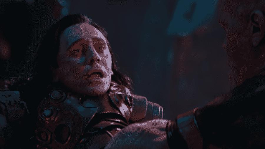"""Tom Hiddleston em cena de """"Vingadores: Guerra Infinita"""" - Reprodução"""