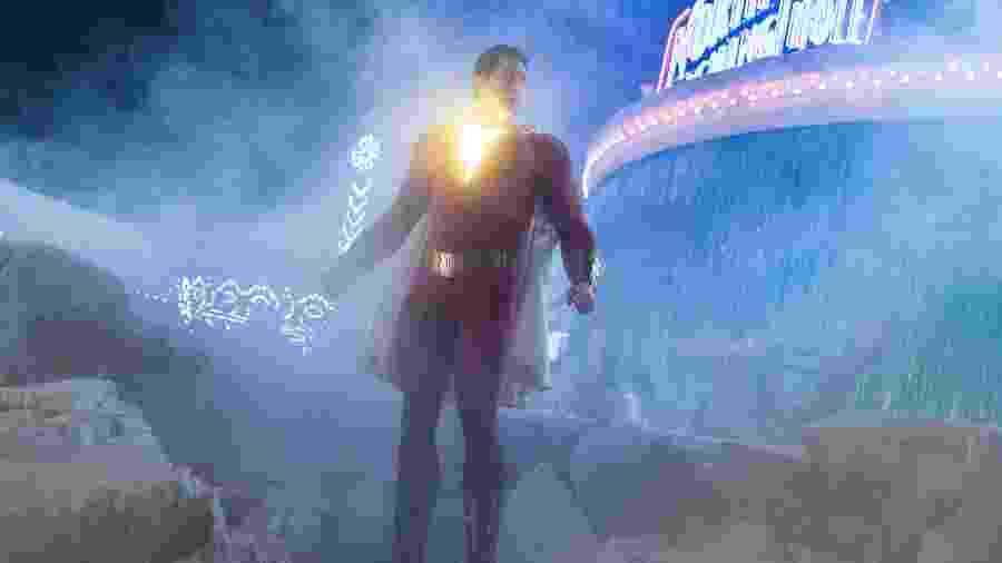 """Zachary Levi em cena de """"Shazam!"""" - Divulgação"""