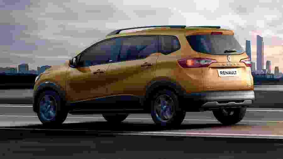 Renault Triber 2020 - Divulgação