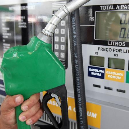 Detalhe de bomba em posto de combustível -  DIORIO/ESTADÃO CONTEÚDO/AE