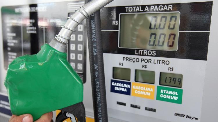Combustível   ANP: Etanol sobe em 18 estados e DF; preço médio avança no país
