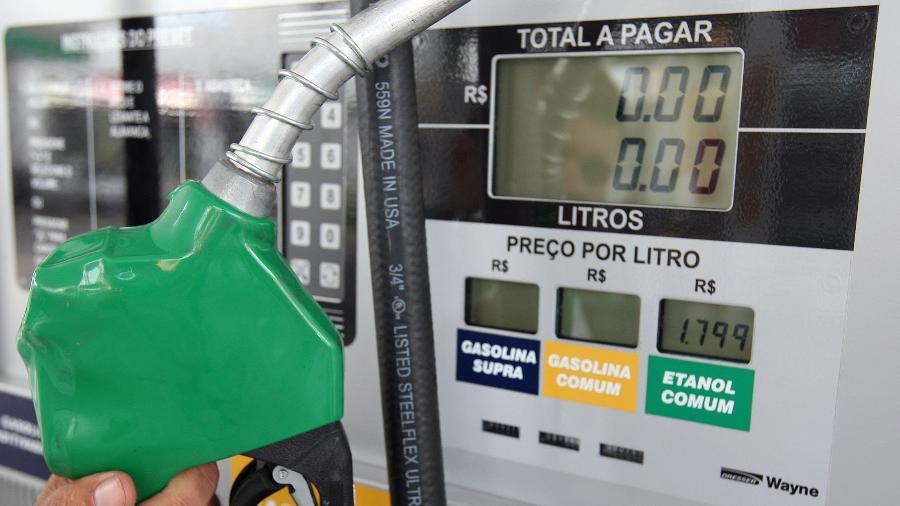 O ICMS é apenas um dos componentes do preço da gasolina e do diesel.  - Diorio/Estadão Conteúdo/AE