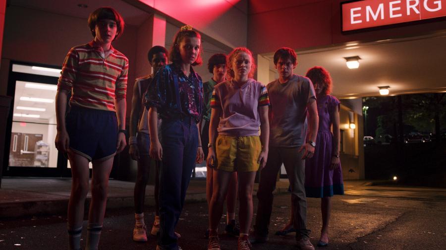 Cena da terceira temporada de Stranger Things, que estreou em 4 de julho - Divulgação