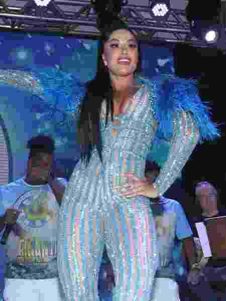 Aline Riscado, da Vila Isabel - Thyago Andrade/BrasilNews