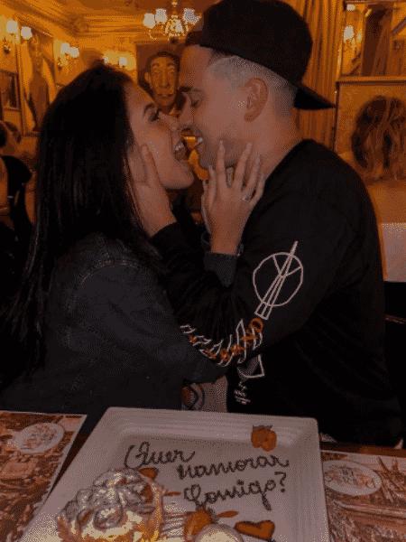 Cinthia Cruz e Luis Mariz - Reprodução/Instagram