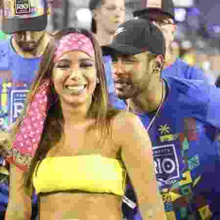 Anitta e Neymar - Daniel Pinheiro/AgNews