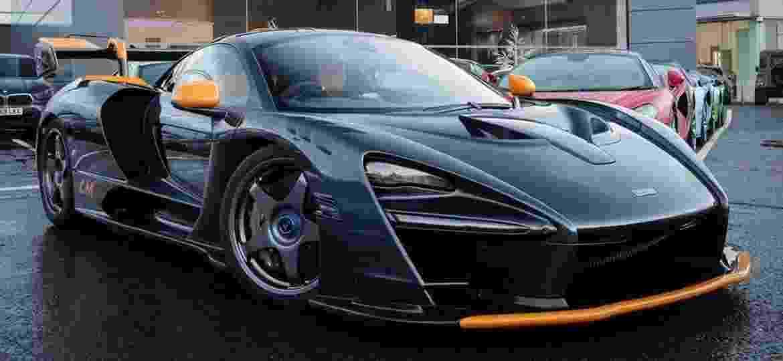 Senna LM tem detalhes que remetem ao clássico McLaren F1 LM - Reprodução