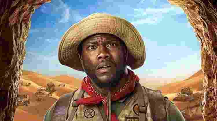 Kevin Hart em Jumanji - Divulgação - Divulgação