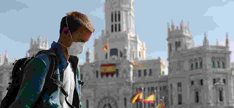 Nesta semana, a Espanha superou a China em número de mortes, ocupando a segunda posição em óbitos no mundo, depois da Itália - Anadolu Agency/Getty Images