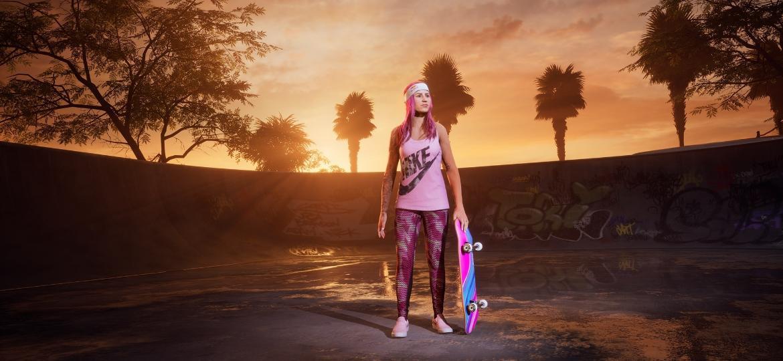 """A brasileira Letícia Bufoni estará no remaster de Tony Hawk""""s Pro Skater 1 e 2 - Divulgação"""