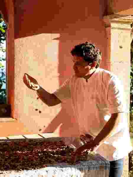 Chef acredita que contato com a natureza é um destaque de suas criações - Matteo Carassale - Matteo Carassale