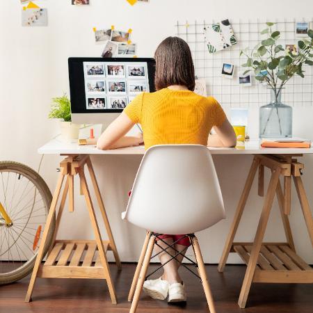 Segundo a Fipe, o crescimento do home office nos acordos ocorreu após o início da pandemia de covid-19 - Getty Images