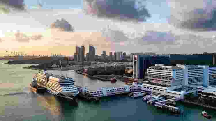 Viagens de cruzeiro que passavam por Cingapura foram interrompidas em março - Singapore Tourism Board / Divulgação - Singapore Tourism Board / Divulgação