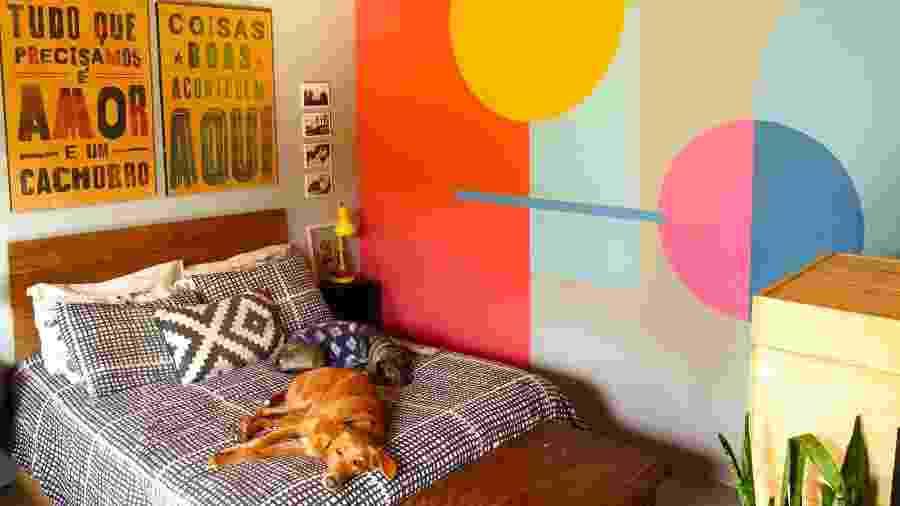 Cores, cães e muito garimpo: assim é a casa de Kelly Rhein, do @cenourasfrescas - Arquivo Pessoal
