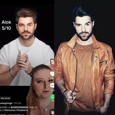 """Vídeo em que recepcionista chamava DJ Alok de """"Aloka"""" por conta de trotes viralizou - Reprodução/Instagram"""