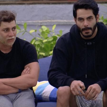 Rodolffo e Caio integram a bancada do Centrão no BBB 21 - Reprodução/Globoplay