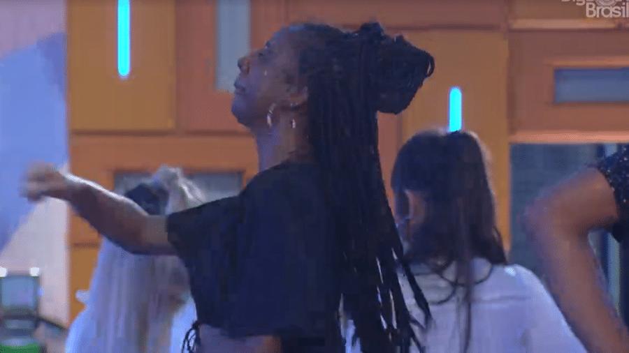 BBB 21: Camilla se emociona ao ouvir funk na festa do líder - Reprodução/Globoplay