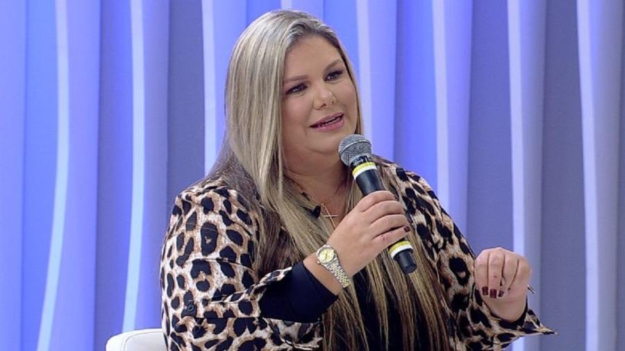 """Vivi Brunieri em participação no """"Superpop"""", em 2020 - Reprodução/RedeTV!"""