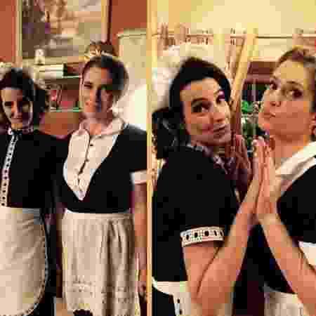 Ilana Kaplan (à esq) com Leticia Spiller em cena da novela I Love Paraisópolis (Globo) - Reprodução/Instagram - Reprodução/Instagram