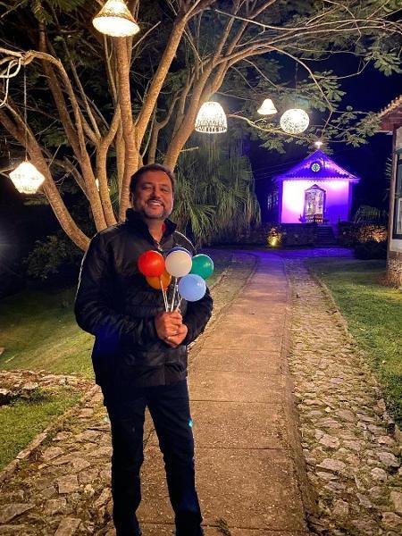 Geraldo Luís completa 50 anos de vida - Reprodução/Instagram