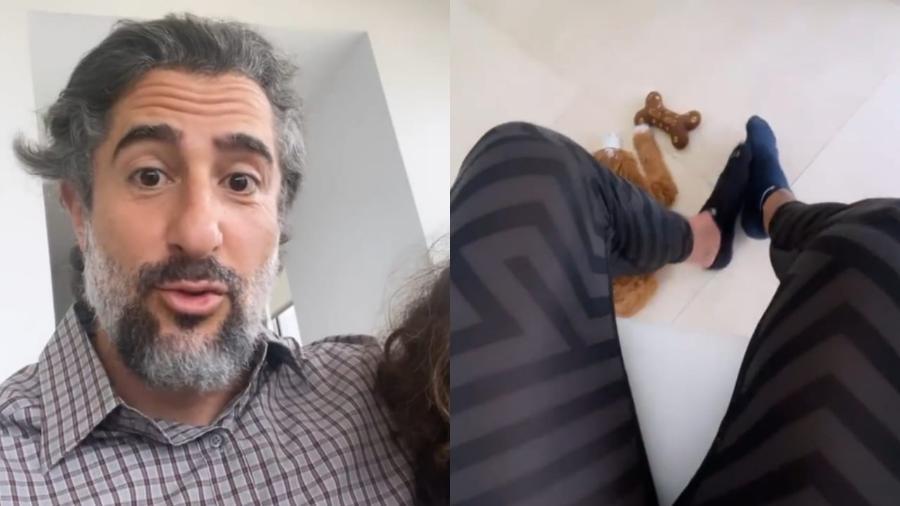 Marcon Mion mostra look para formatura à distância do filho caçula, Stefano - Reprodução/Instagram