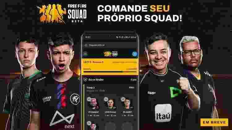 Free Fire Squad - Divulgação/Garena - Divulgação/Garena
