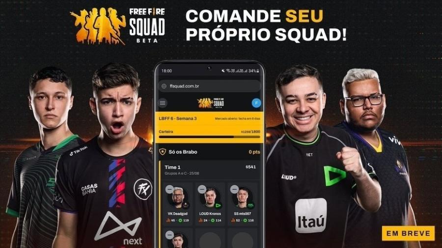 Free Fire Squad - Divulgação/Garena