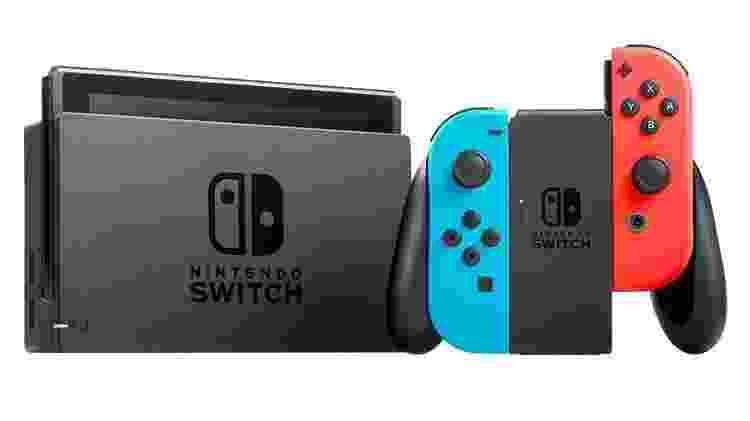 Nintendo Switch - Divulgação - Divulgação