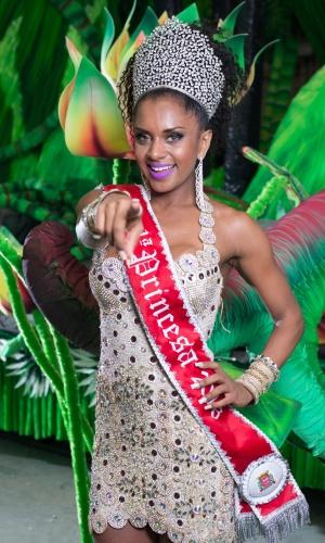 """Em 2015, ela desbancou 23 candidatas e foi campeã do concurso """"Musas do Carnaval"""" do Caldeirão do Huck"""