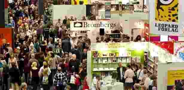 A prestigiada Feira do Livro de Frankfurt, que este ano acontece de 19 a 23 de outubro - Adam Lundquist/Divulgação