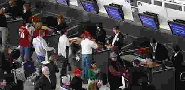 Quanto maior o aeroporto, maior a concorrência - Getty Images - Getty Images