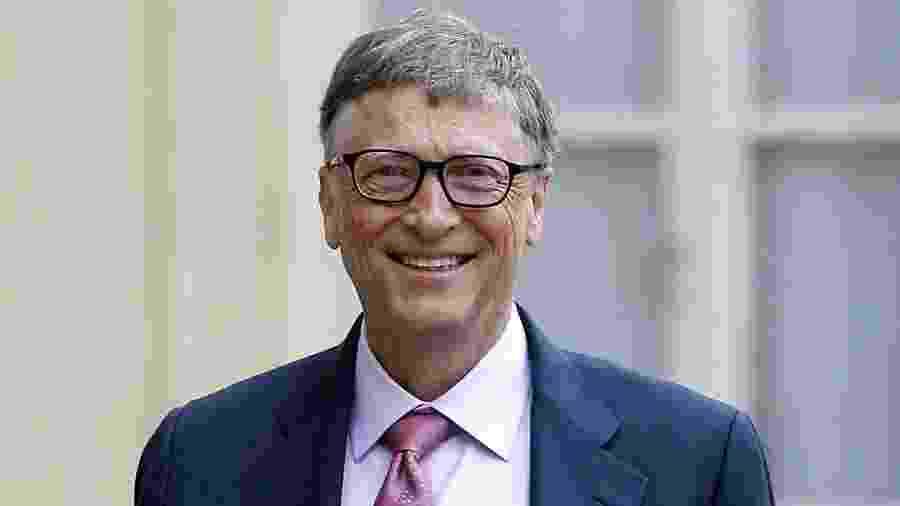 Bill Gates, um dos fundadores da Microsoft - Chesnot/Gettty Images
