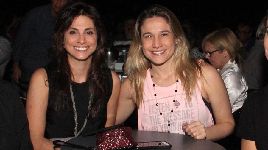 Fernanda Gentil com a namorada em show do Roupa Nova no Rio - AgNews